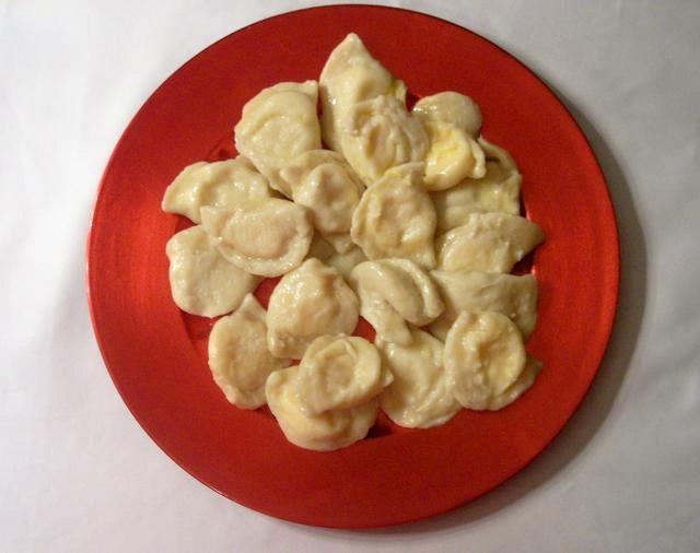 Homemade Pirohi