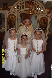 Father Lucas and His Grand Daughters